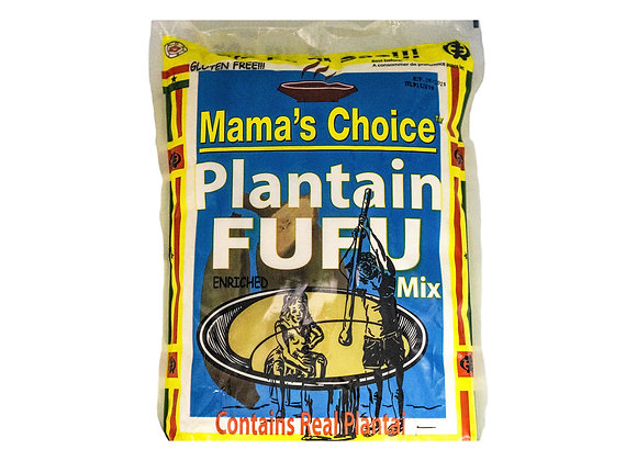 Mama's Choice Plantain Fufu Medium
