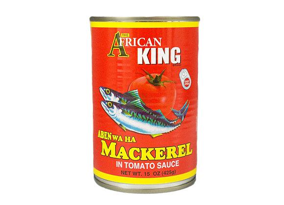 African King Mackerel in Tomato Sauce