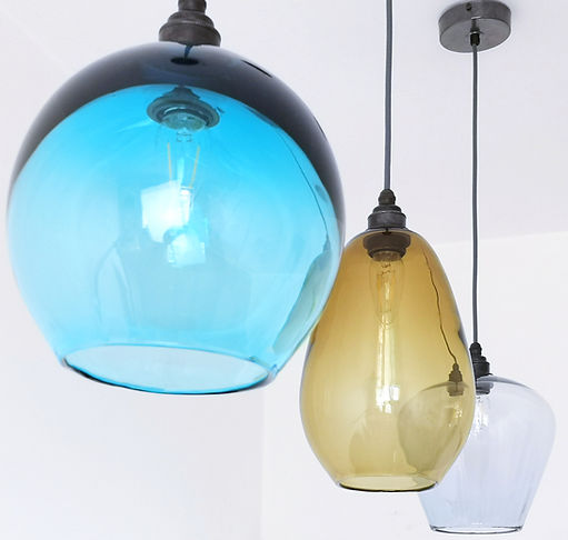 Glass Kitchen Pendant Lighting