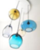 multi drop pendant lights with 50 cm cei