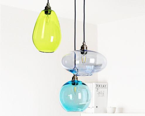 3 light cluster pendant