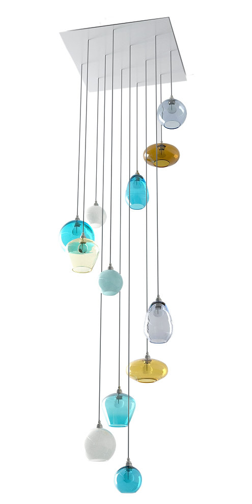 stairwell pendant lighting