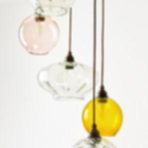 blown glass light fixtures