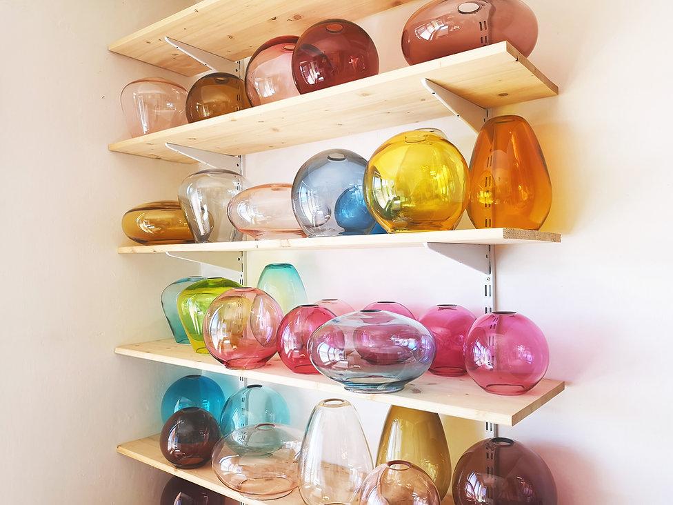 colourful pendant lights