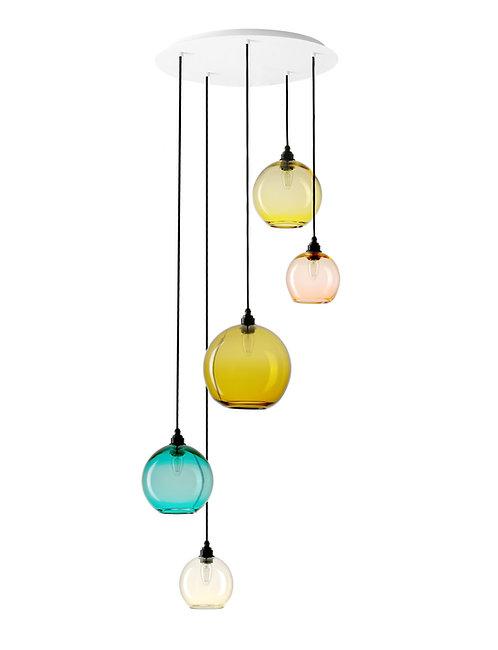 5 Light Pendant (Globes)