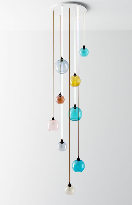 Multi Light Pendant Cluster