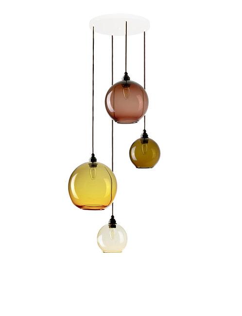 4 Light Pendant (Globes)