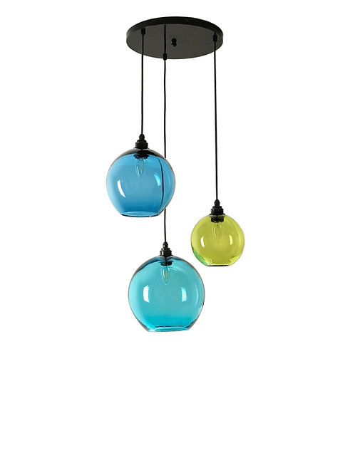 3 Light Pendant (Globes)