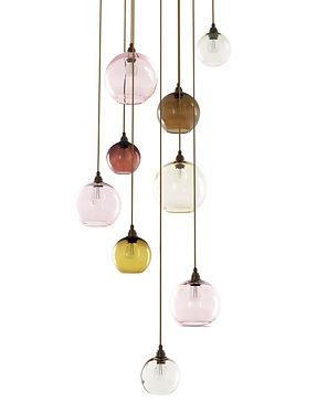 multi drop pendant lights