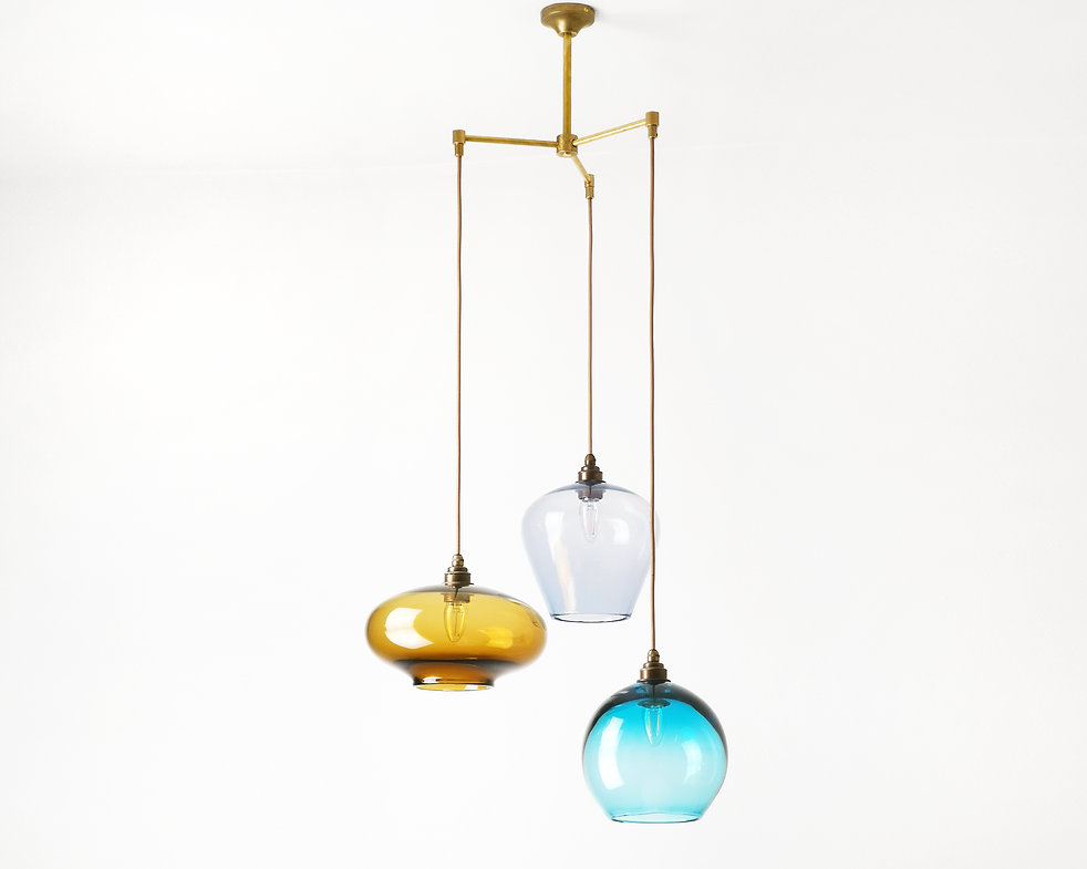 multiple pendant light from one fixture