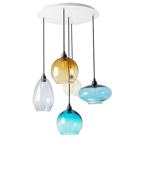 5 Light Pendant (Mix)