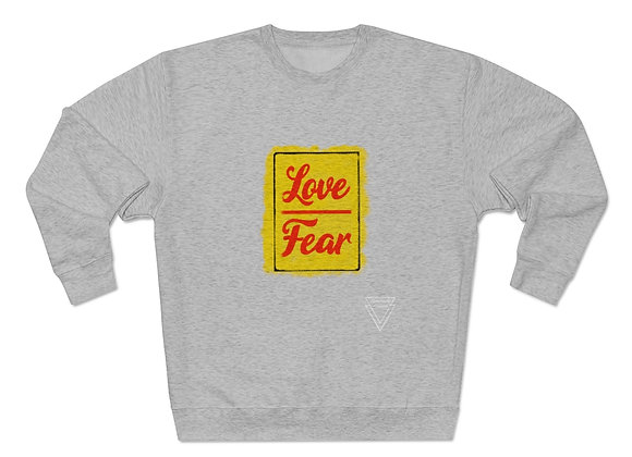 LOVEOVERFEAR// Unisex Heavy Blend™ Crewneck Sweatshirt