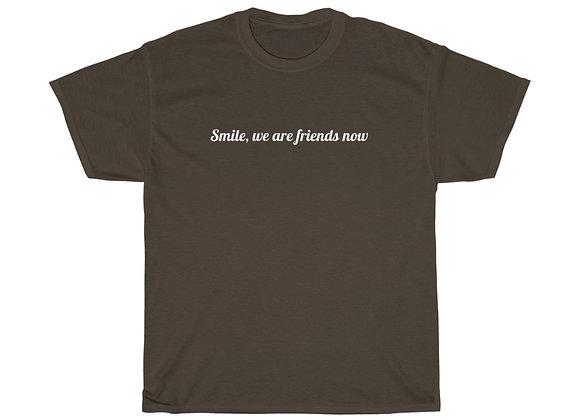Smile :) Unisex Heavy Cotton Tee