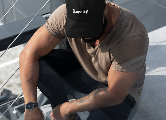 LOYALTY : Distressed Dad Hat