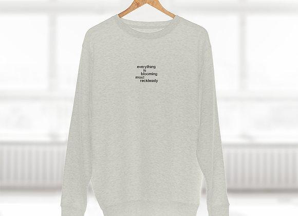 BLOOMING // Unisex Premium Crewneck Sweatshirt