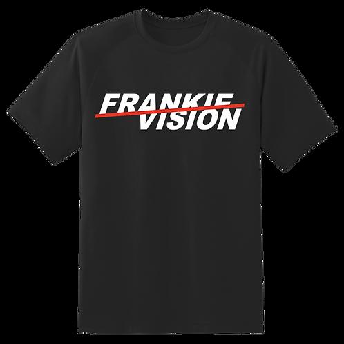 FrankieVision Black Slash Logo T-Shirt