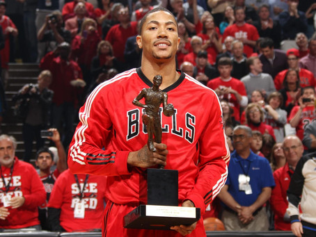 Its Been 9 Years Since Derrick Rose Was Named NBA MVP.