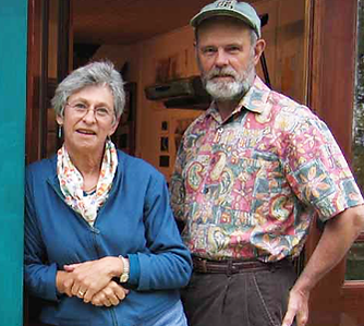 Jane Banquer and Norm Proulx