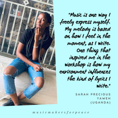 Sarah Precious Yaweh | Uganda