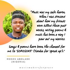 Moses Abolade | Nigeria
