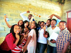 Unforgettable music jam with this fiesty bunch at Kantafu School, Kenya! We wrote two songs in Engli