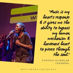 Cynthia Alimolar   Uganda