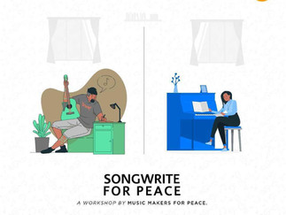 Songwrite for Peace Workshop with Mapinduzi in Uganda
