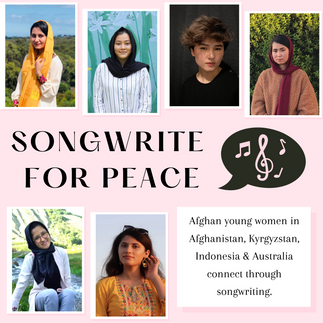 Songwrite for Peace Workshop with Afghan Young Women
