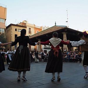 Ballada amb el Dantza Taldea de Navarra a Granollers