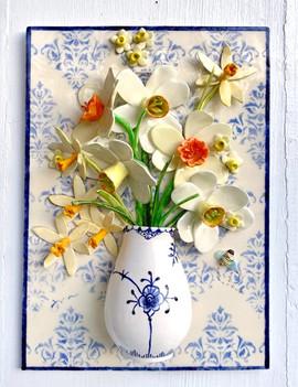 Mixed Daffodils in Royal Copenhagen