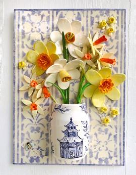 Mixed Daffodils in Pagoda Vase.jpg