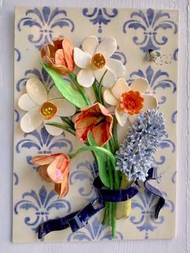 Spring Bouquet with Fleur de Lys
