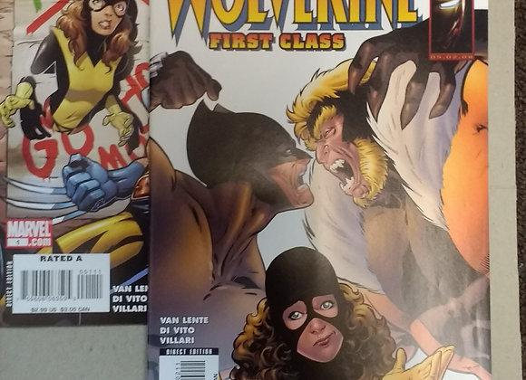 Marvel Wolverine First Class #1-2