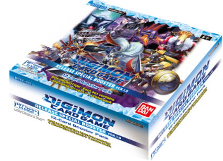 12x Booster, Digimon Card Game - Ver.1.0 BT01-03 - Release Special Pack V