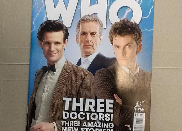Titan Doctor Who Three Doctors #01