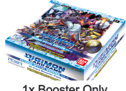 1x Booster, Digimon Card Game - Ver.1.0 BT01-03 - Release Special Pack Vol.1.0