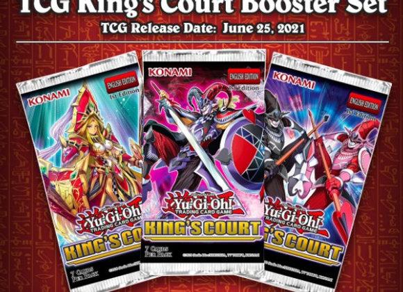 Yu-Gi-Oh! - Kings Court Booster Box CASE (12x 24 Packs)