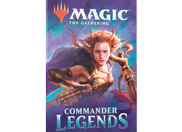 10x Magic: The Gathering - Commander Legends Draft Booster