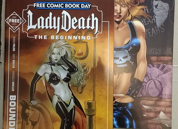 Boundless - Lady Death #0 Avatar Comics Unholy - Preview 2004