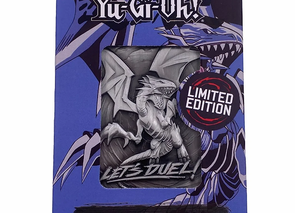 Yu-Gi-Oh Blue Eyes White Dragon - Limited Metal Card