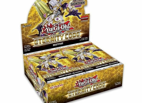 Yu-Gi-Oh Eternity Code Booster Box (24 Boosters) + 2x Lost Art Cards