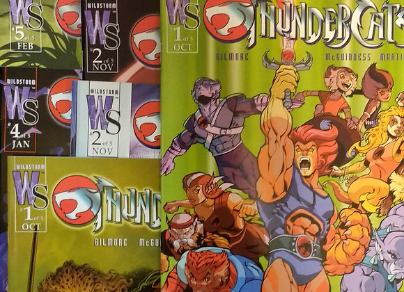 Wildstorm ThunderCats 9 Issues #1-5 Plus Variants #1 #2 #5  Plus Source Book