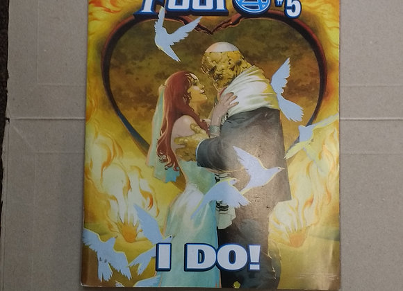 2018 Fantastic Four #5 Thing and Alicia Wedding Marvel Free Previews Issue #15