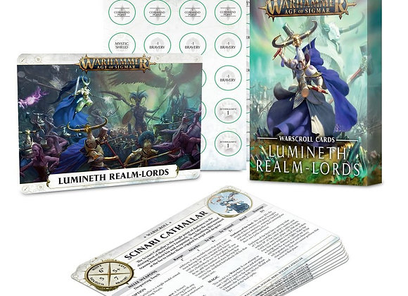 WARSCROLL CR: LUMINETH REALM-LORDS (ENG)