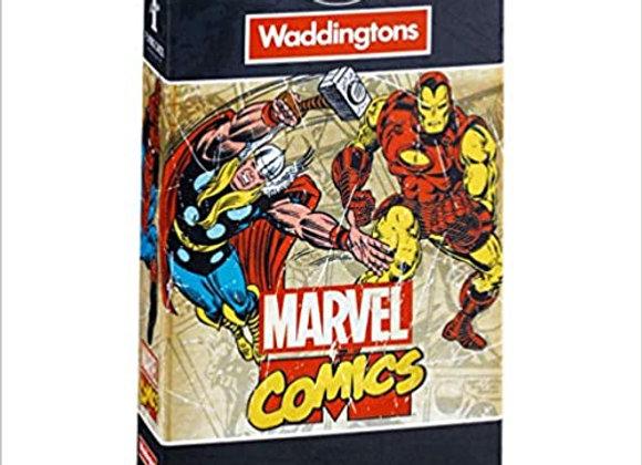Waddingtons Playing Cards Pack - Marvel Comics Retro