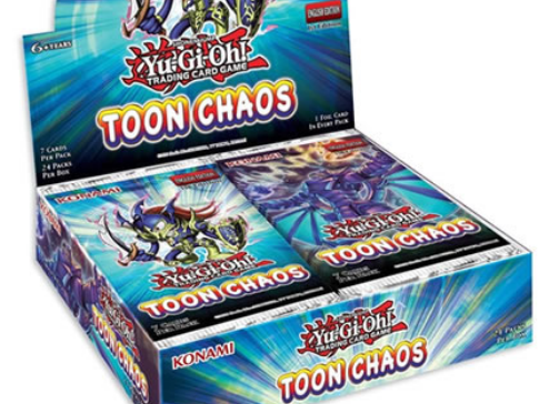 Yu-Gi-Oh! - Toon Chaos Booster Box Reprint Unlimited Edition (24 Count)