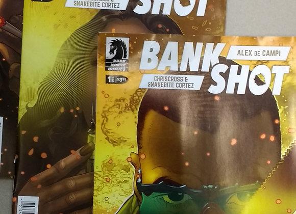 Bank Shot # 1 2 3  comic books - Dark Horse Comics + Alex de Campi