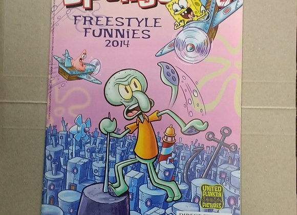 United Plankton Pictures - SpongeBob Freestyle Funnies FCBD #2014