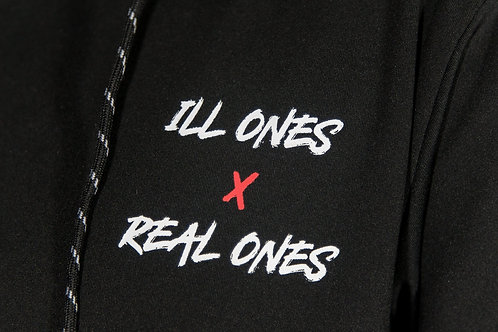 ill ones X real ones Hoodie