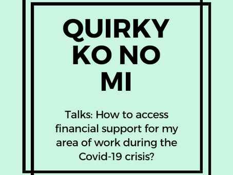 Financial help for businesses and self employed during Covid-19